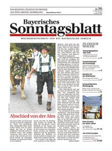Bayerisches Sonntagsblatt - Wochenzeitschrift für die katholische Familie